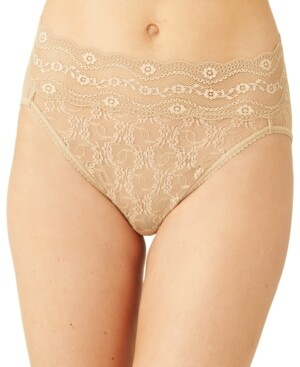 B.Tempt'd Women's Lace Kiss High-Leg Brief Underwear 978382