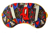 Q For Queen Of Hearts Silk Eye Mask In Giftbox
