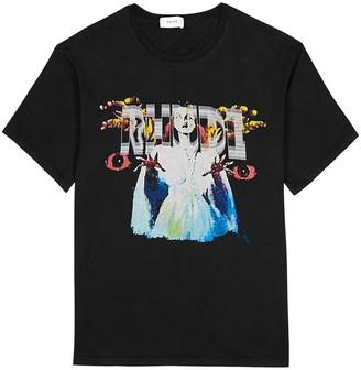 Rhude Scream printed cotton T-shirt