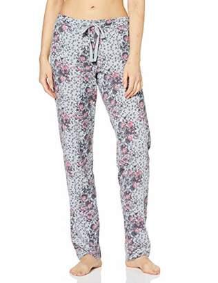 Schiesser Women's Mix & Relax Jerseyhose Lang Pyjama Bottoms,(Size: 046)