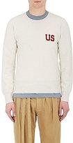 """Visvim Men's """"US"""" Cotton-Blend Sweatshirt-GREY"""