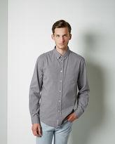Acne Studios Isherwood Black Oxford Shirt