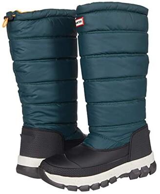 Hunter Insulated Snow Boot Tall (Green Jasper/Geysers) Women's Shoes