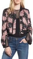 Joe's Jeans Women's Denni Floral Bomber Jacket
