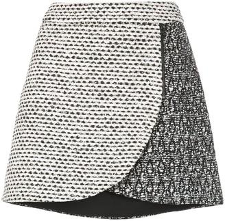 Alice + Olivia Alice+Olivia Lennon jacquard petal mini skirt