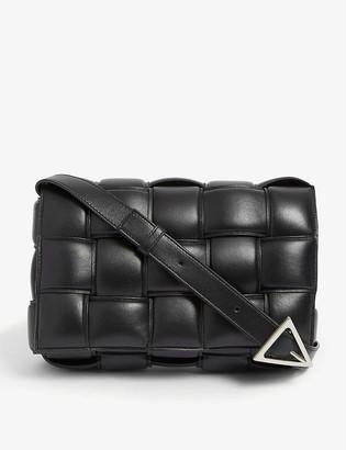 Bottega Veneta Padded Cassette intrecciato leather cross-body bag