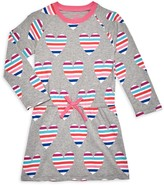 Hatley Little Girl's Multicolored Heart Cotton-Blend Dress