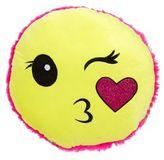 Capelli New York Smiley Pillow