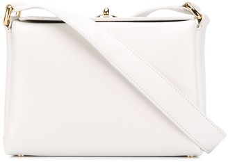 Plan C Structured Box Shoulder Bag