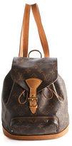 Louis Vuitton Coated Canvas Monogram Montsouris MM Backpack Handbag BC9240 MHL