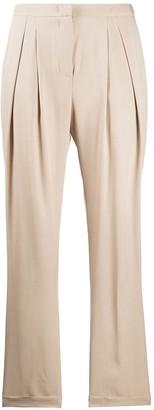 Blumarine High-Rise Tailored Trousers