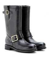 Jimmy Choo Leather biker boots