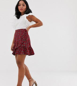 Y.A.S Petite paisley print mini skirt-Multi