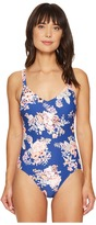 Seafolly Vintage Wildflower Sweetheart Maillot One-Piece Women's Swimsuits One Piece
