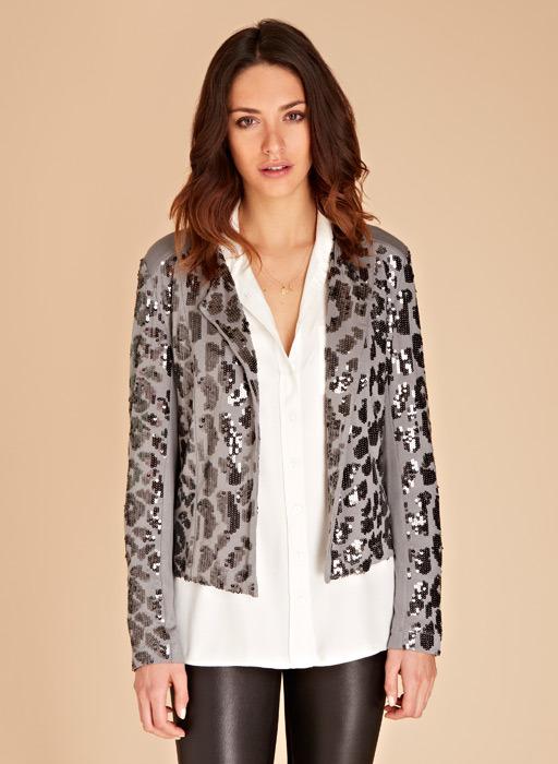 Isabella Oliver Harrowby Sequin Jacket