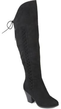 Journee Collection Women's Wide Calf Spritz-p Boot Women's Shoes