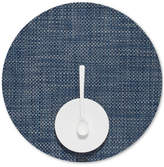 Chilewich Basketweave Woven Vinyl Placemat, Round