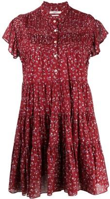 Etoile Isabel Marant Floral Print Cotton Dress