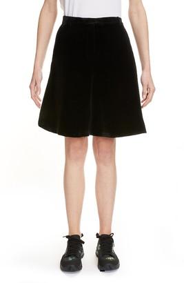 Cecilie Bahnsen Mille Velvet Suiting Shorts