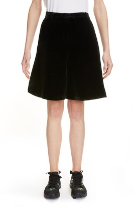 Cecilie Bahnsen Velvet Suiting Shorts