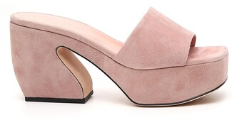 Si Rossi Square Toe Platform Sandals