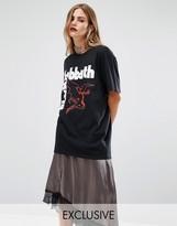 Reclaimed Vintage Black Sabbath Print Band T-Shirt