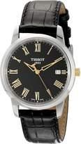 Tissot Men's TIST0334102605301 Class Dream Analog Display Swiss Quartz Watch