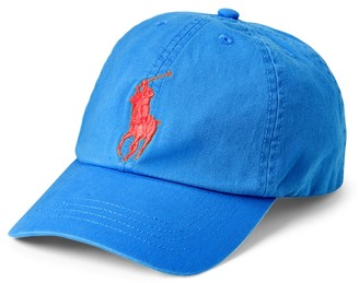 Ralph Lauren Big Pony Chino Baseball Cap