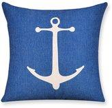GYAJSGC Simple and modern geometric cotton pillow/Living room soa cushions/waist cushion