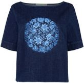 Stella McCartney denim threadwork t-shirt