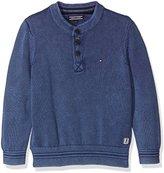 Tommy Hilfiger Boy's Henley Sweater L/S Jumper