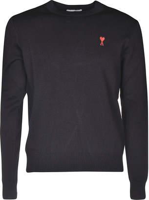 Ami Alexandre Mattiussi Logo Patch Sweater