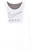 Nike White Tank with Side Tie