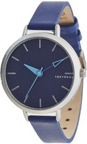 Tokyobay Tokyo Bay T623-BE Women's Smart Stainless Steel Multi-color Nylon Band White Dial Watch