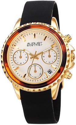 August Steiner Women's Silicone Watch