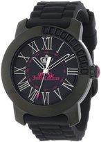 Juicy Couture Women's 1900735 BFF Black Jelly Strap Watch