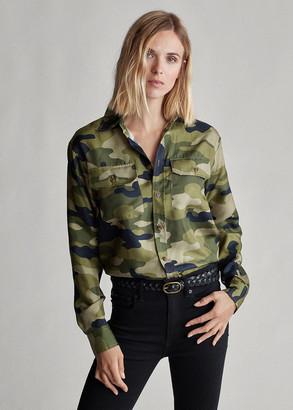 Ralph Lauren Camo Silk Shirt