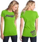 JUST RIDE You Had Me At Braaap! Motocross T Shirt Custom Personalized Shirt Lime (XL, )