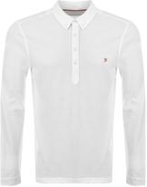 Farah Merriweather Polo T Shirt White