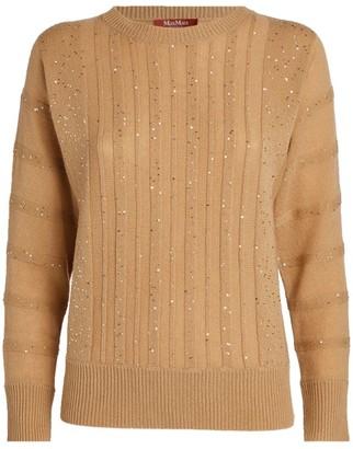 Max Mara Embellished Sweater