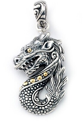 Samuel B. Two-Tone Dragon Pendant