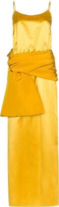 Rosie Assoulin sash cami maxi dress