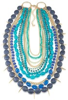 ABS by Allen Schwartz Multi Row Statement Necklace, 16""