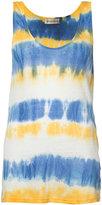 Faith Connexion tie-dye effect vest top - women - Linen/Flax - S