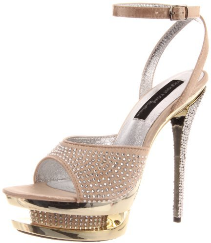 The Highest Heel Women's Diamond-71-Cham Platform Sandal