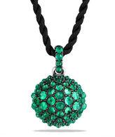 "David Yurman 20mm Osetra Faceted Hematine Pendant Necklace, 42"""