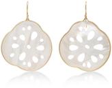 Annette Ferdinandsen 18K White Gold Small Locust Root Earrings