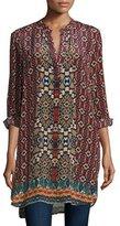 Tolani Skyler Vibrant Printed Tunic, Plus Size