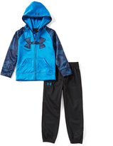 Under Armour Little Boys 2T-7 Solid/Printed Hoodie Jacket & Pant Set