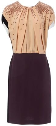 Fendi Purple Synthetic Dresses